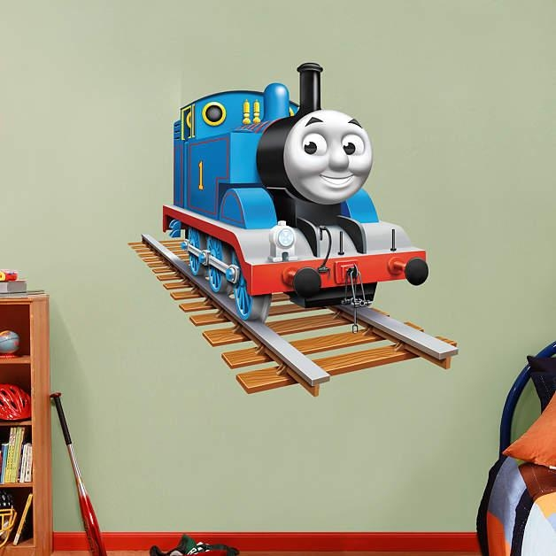 Wall Decal: Best 20 Thomas The Train Wall Decals Thomas The Train With Thomas The Tank Wall Art (Image 20 of 20)