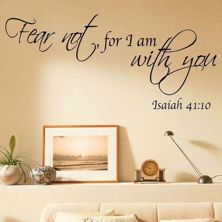 Wall Decal: Bible Verses Wall Decals Inspiration Biblical Wall Pertaining To Christian Word Art For Walls (Image 17 of 20)
