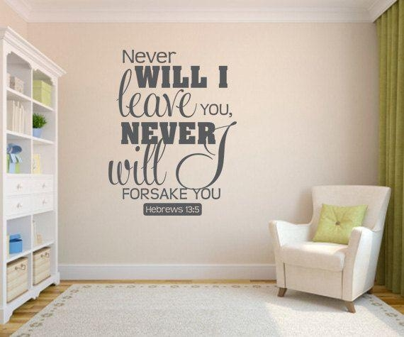 Wall Decal: Biblical Wall Decals Ideas Scripture Wall Decals Inside Biblical Wall Art (Image 20 of 20)