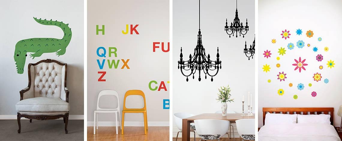 Wall Decals | Designyourwall Pertaining To Wall Cling Art (Image 19 of 20)
