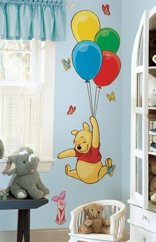 Wall Decals Of Winnie The Pooh And Piglet – Winnie The Pooh Wall With Winnie The Pooh Wall Decor (Image 12 of 20)