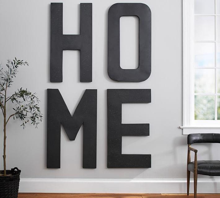Wall Decor: Awesome Decorative Metal Letters Wall Art Metal Wall In Decorative Metal Letters Wall Art (View 11 of 20)