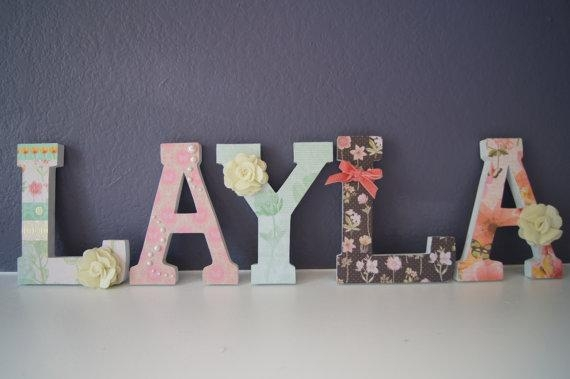 Featured Image of Decorative Initials Wall Art