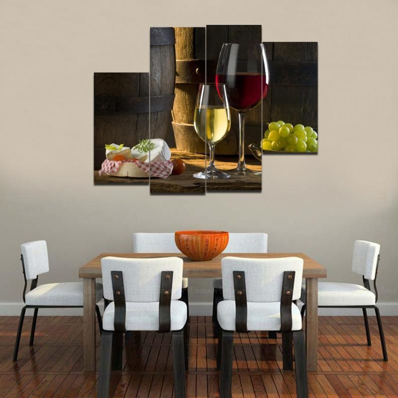 Wall Decor Dining Room Area – Dining Room Wall Decor Concept Within Canvas Wall Art For Dining Room (View 7 of 20)