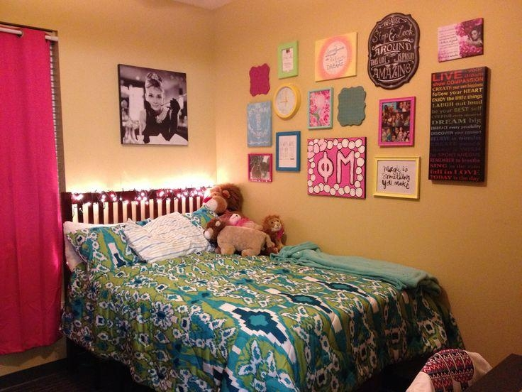 Wall Decor For Dorm Rooms Immense Room Decorating Ideas Essentials Inside Wall Art For College Dorms (View 18 of 20)