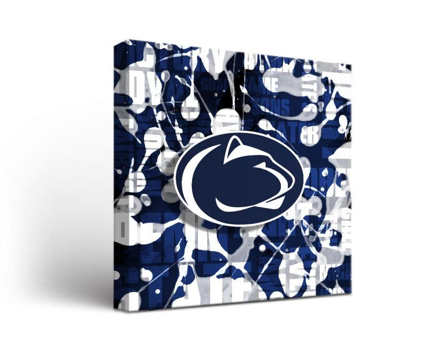 Wall Decor: Penn State Wall Art Inspirations. Wall Design (View 14 of 20)
