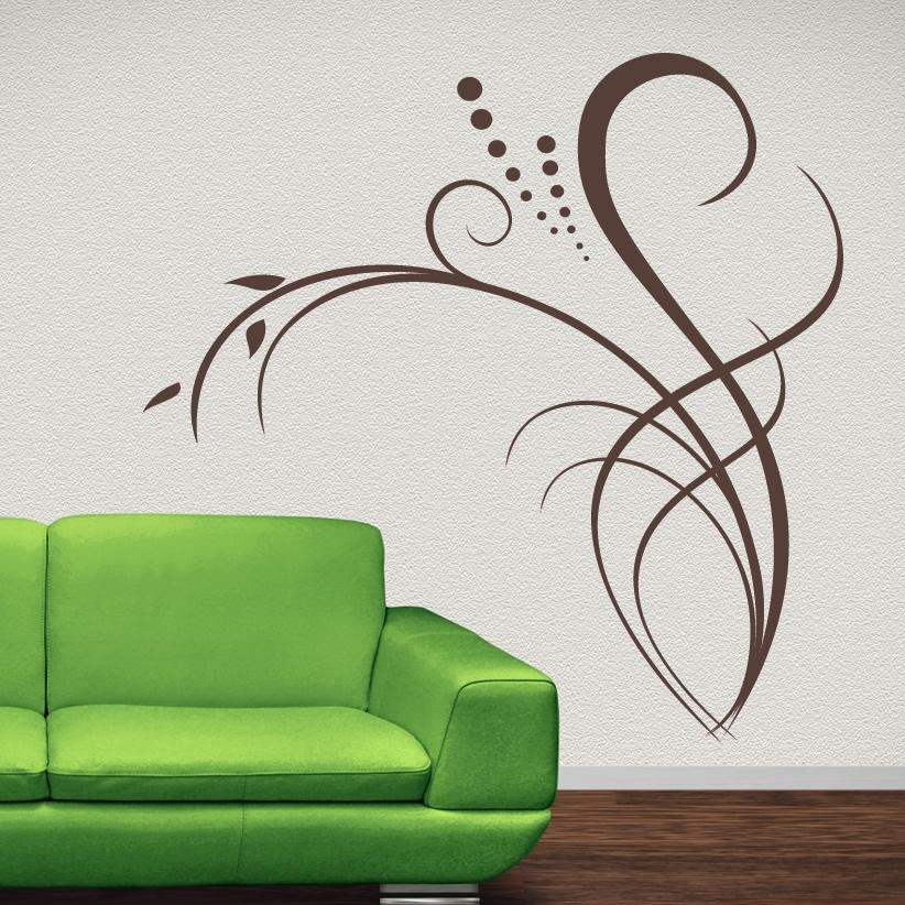 Wall Decor Stickers | Roselawnlutheran Pertaining To Wall Art Deco Decals (Image 19 of 20)