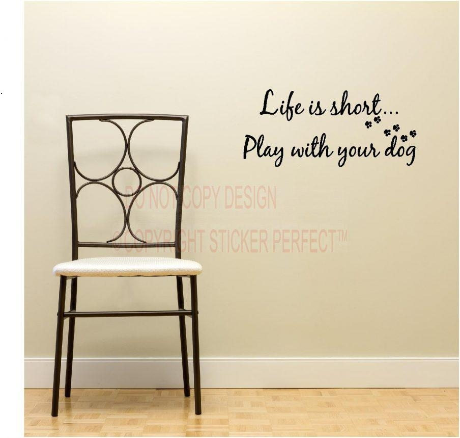 Wall Decor: Wall Art Sayings Inspirations (View 3 of 20)