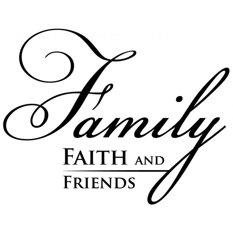 Wall Decor, Wall Art, Wall Decals | Faith, Family, And Friends Inside Faith Family Friends Wall Art (View 19 of 20)