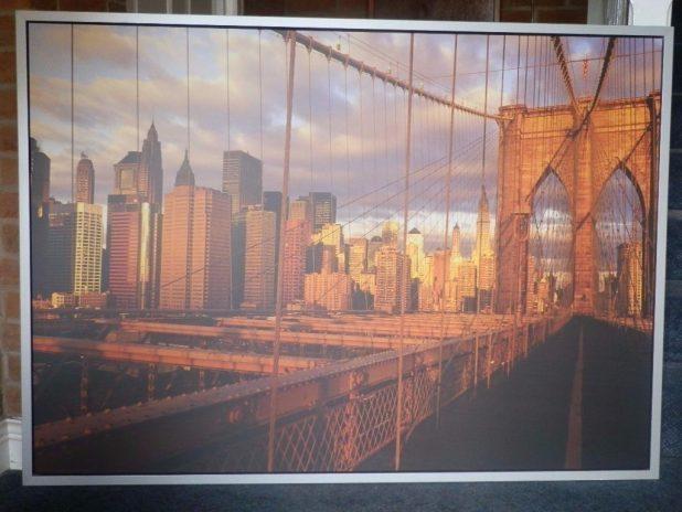Wall Design: Brooklyn Bridge Wall Art Images. Wall Decor (Image 15 of 20)