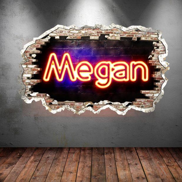 Wall Design: Neon Wall Art Design. Neon Wall Art Uk (Image 14 of 20)