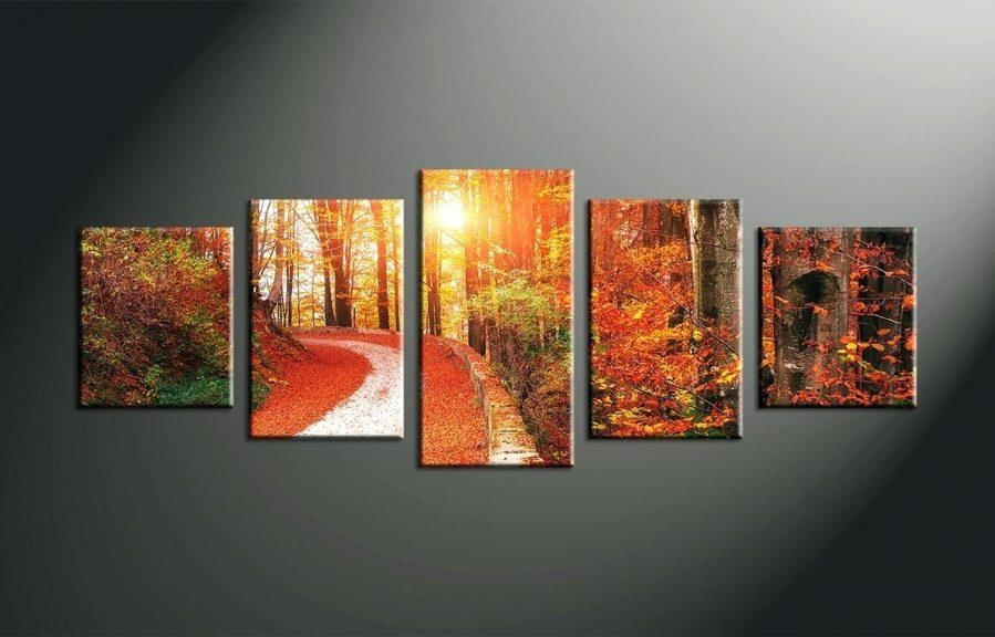 Wall Ideas : 5 Piece Wall Art Decor 5 Piece Wall Art Custom 5 Within Split Wall Art (Image 19 of 20)