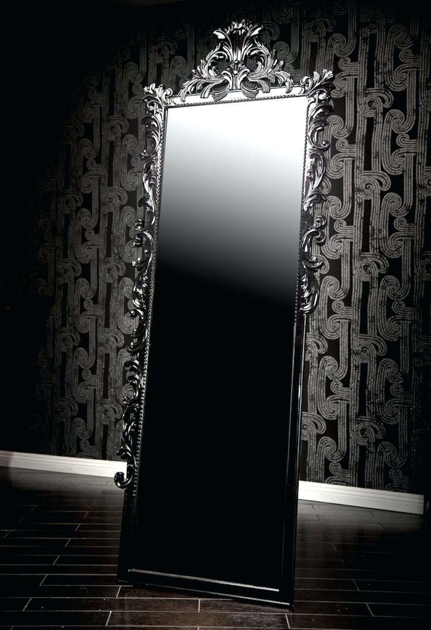 Wall Ideas : Black Wall Mirror Nz Allen Roth Black Wall Mirror Throughout Black Wall Mirrors For Sale (Image 19 of 20)