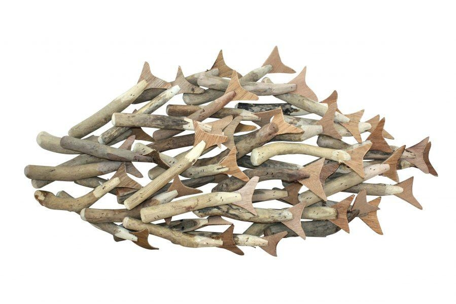 Wall Ideas : Bonefish Wood Wall Art Lovely Metal School Of Fish With Metal School Of Fish Wall Art (Image 20 of 20)