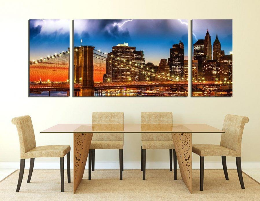 Wall Ideas : Brooklyn Bridge Glass Wall Art Zoom Ikea Brooklyn Inside Ikea Brooklyn Bridge Wall Art (View 9 of 20)