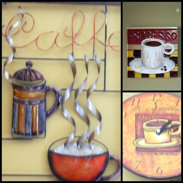 Wall Ideas : Coffee Cup Metal Wall Art 3D Metal Coffee Cup Wall Pertaining To Coffee Bistro Wall Art (Image 20 of 20)