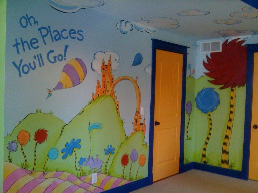 Wall Ideas : Dr Seuss Wall Art Target Dr Seuss Wall Art Prints Dr Intended For Dr Seuss Canvas Wall Art (Image 17 of 20)
