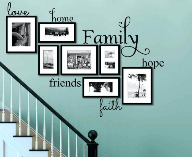 Wall Ideas : Family Rules Wall Art Personalized Huge Wall Quote Regarding Faith Family Friends Wall Art (View 16 of 20)