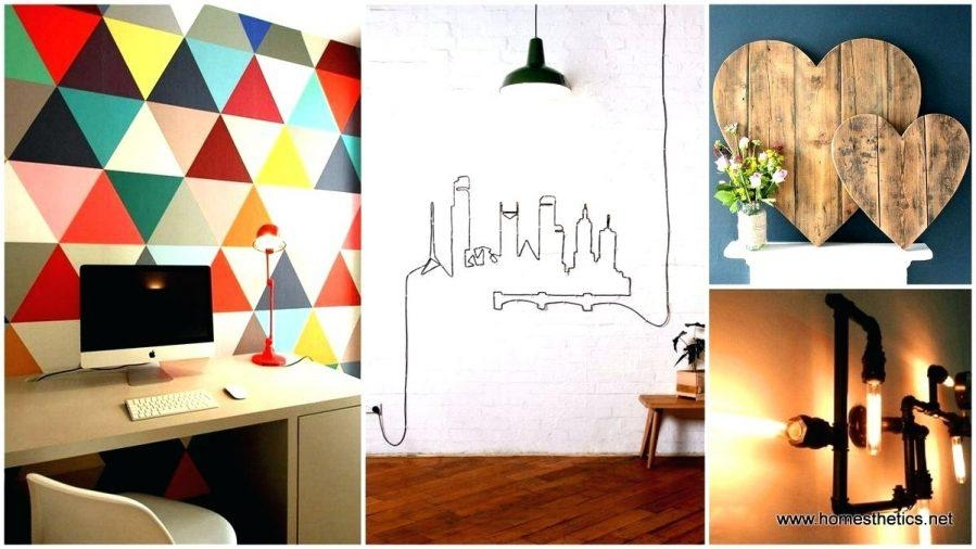 Wall Ideas: Industrial Wall Decor (Image 19 of 20)