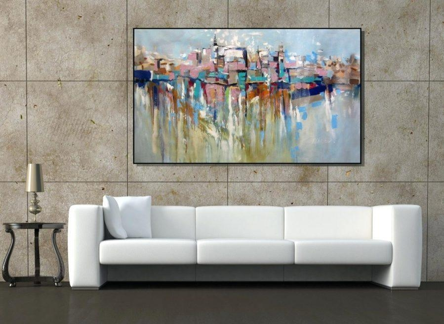 Wall Ideas : Large Abstract Wall Art Australia Illinois Cityscape Inside Large Modern Wall Art (Image 19 of 20)