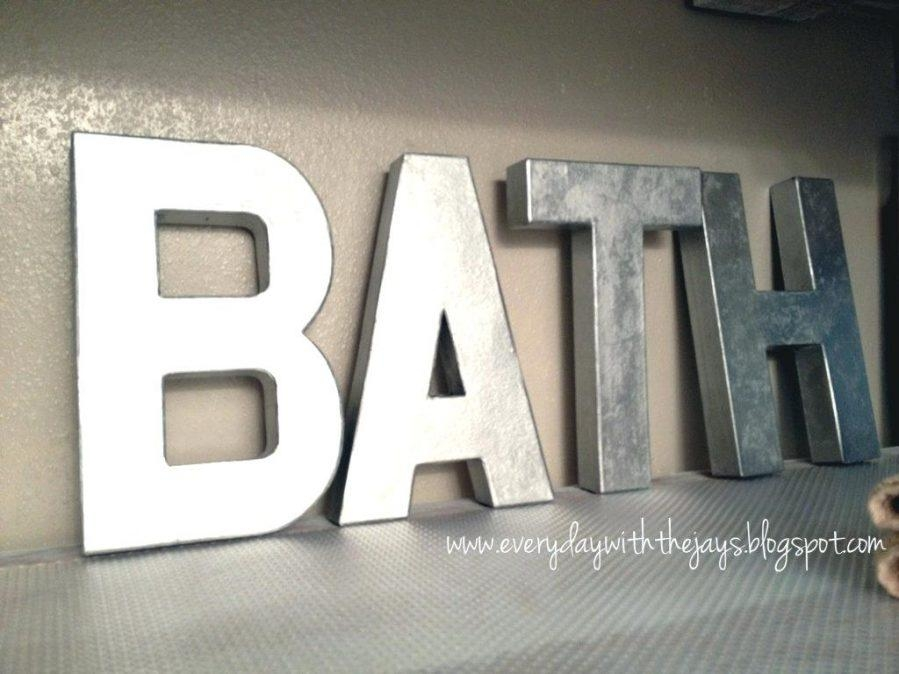 Wall Ideas : Large Metal Letters Wall Art Uk Vintage Metal For Decorative Metal Letters Wall Art (View 2 of 20)