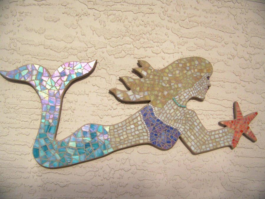 Wall Ideas : Mermaid Wall Art Uk Mermaid Wall Art Canvas Mermaid For Wooden Mermaid Wall Art (View 19 of 20)