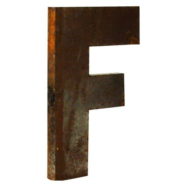 Wall Ideas: Metal Letters Wall Decor (View 10 of 20)