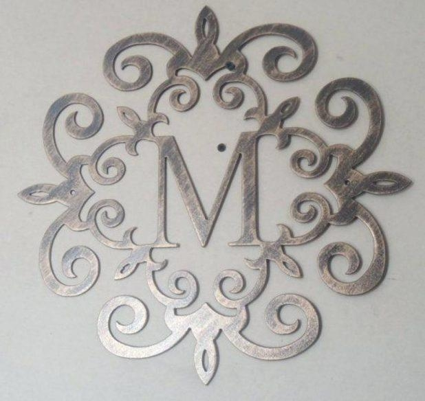 Wall Ideas: Metal Letters Wall Decor (Image 20 of 20)
