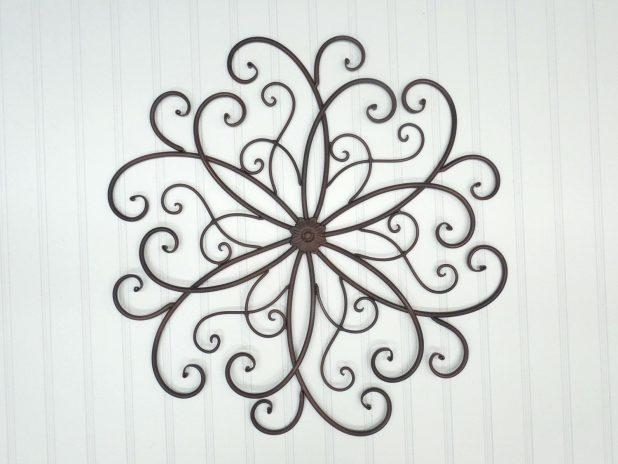 Wall Ideas: Metal Scroll Wall Decor (Image 18 of 20)
