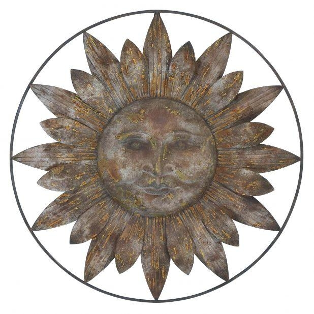 Wall Ideas: Metal Sun Wall Decor (Image 18 of 20)