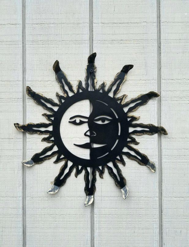 Wall Ideas: Metal Sun Wall Decor (Image 19 of 20)