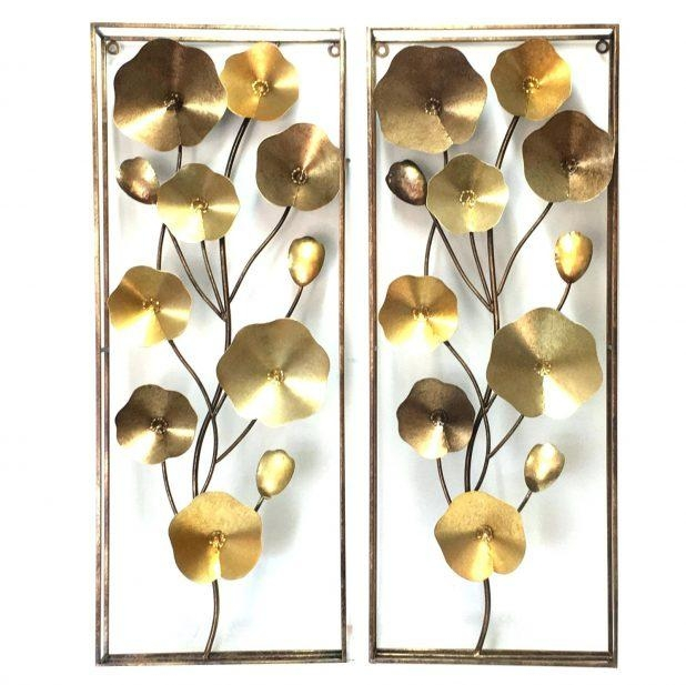 Wall Ideas: Metal Wall Art Flowers (View 9 of 20)