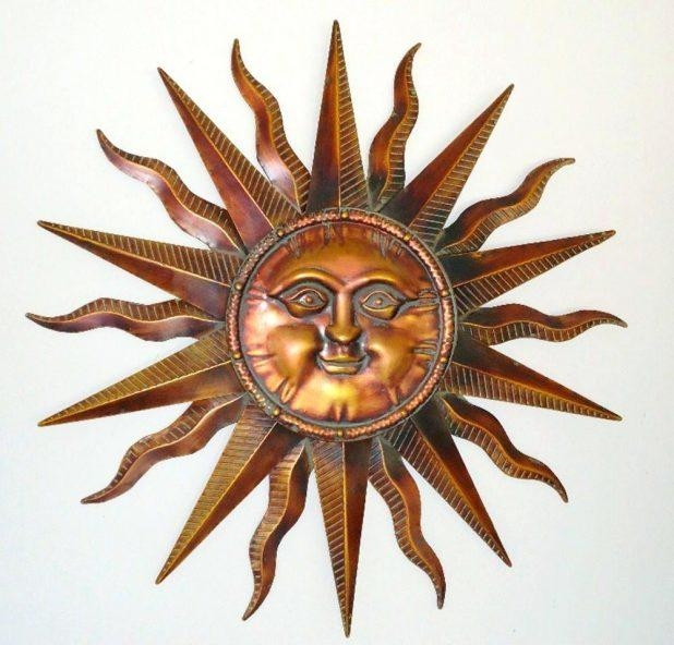 Wall Ideas : Outdoor Metal Sun Wall Art Decor Metal Sun Wall Art Pertaining To Large Metal Sun Wall Art (Image 14 of 20)