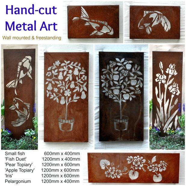 Wall Ideas: Outdoor Wall Art Decor (Image 20 of 20)
