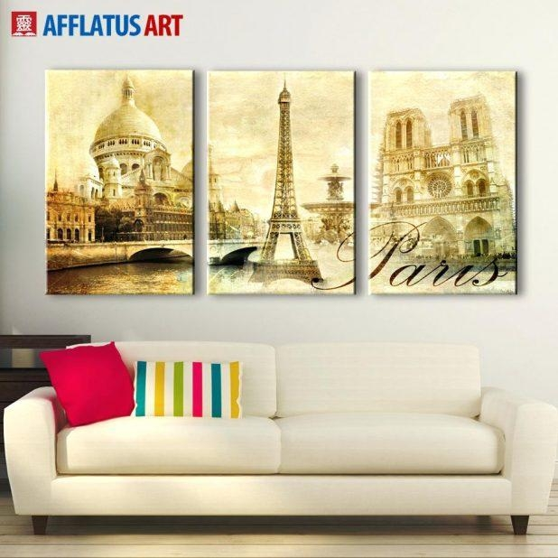 Wall Ideas: Paris Decor Wall Art. Paris Wall Art Decor (View 15 of 20)