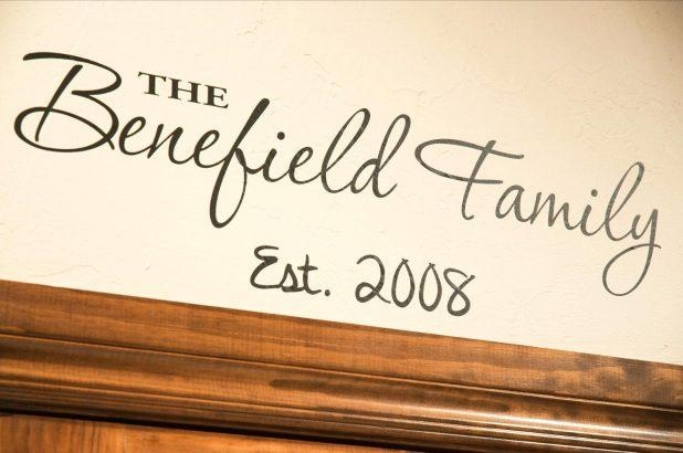Wall Ideas: Personalized Family Wall Art (Image 19 of 20)