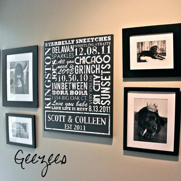 Custom Last Name Wall Art | Wall Art Ideas
