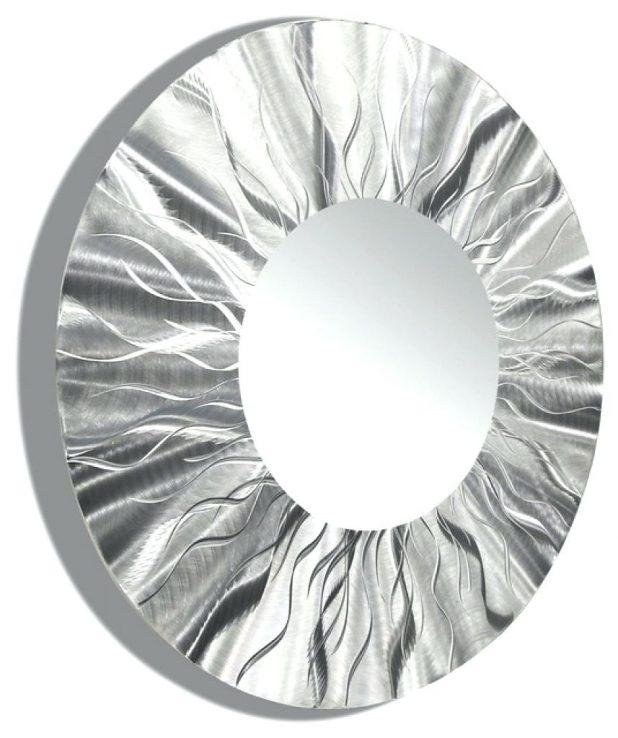 Wall Ideas: Round Metal Wall Art (Image 20 of 20)
