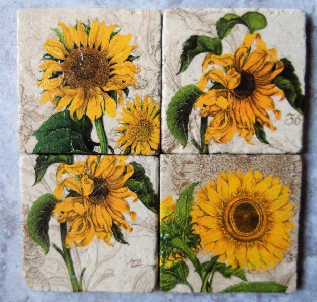 Wall Ideas: Sunflower Wall Decor Photo (View 20 of 20)