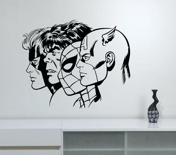 Wall Ideas : Superhero Canvas Wall Art Uk Superhero Wall Art Inside Superhero Wall Art Stickers (Image 19 of 20)