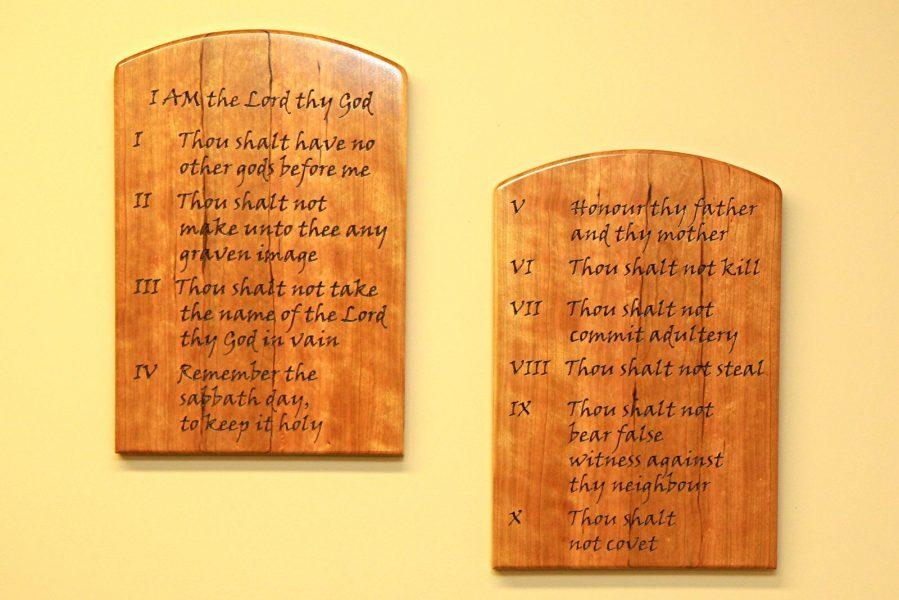 Wall Ideas : Ten Commandments Contemporary Wall Art Sing To Him A Pertaining To Ten Commandments Wall Art (View 10 of 20)