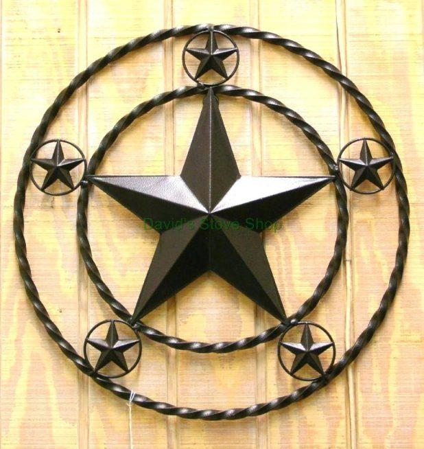 Wall Ideas: Texas Star Wall Decor. Texas Star Wall Decals (Image 20 of 20)