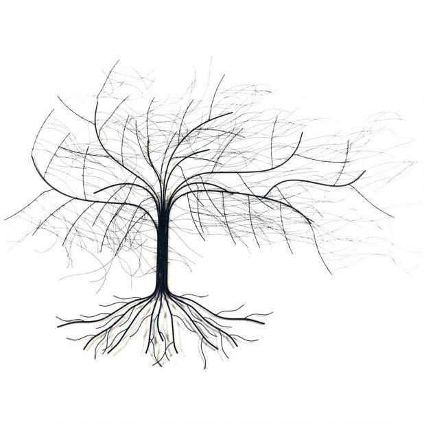 Wall Ideas : Tree Of Life Metal Wall Art Large Metal Tree Wall Art In Oak Tree Large Metal Wall Art (Image 16 of 20)