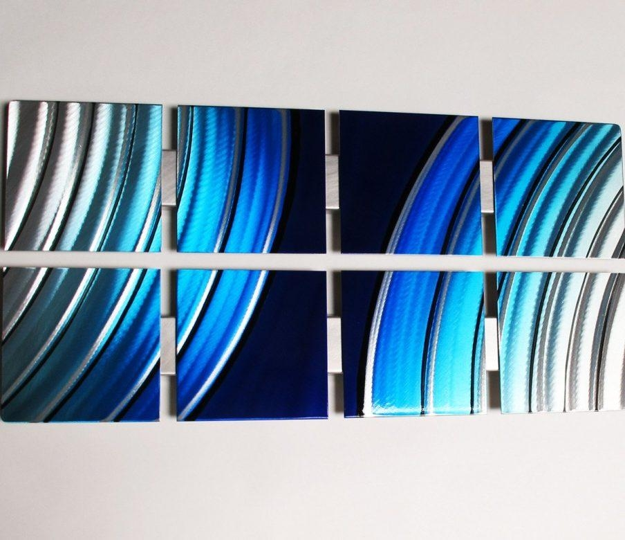 Wall Ideas: Turquoise Metal Wall Art Images (Image 20 of 20)