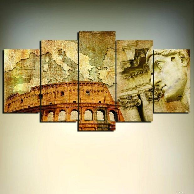 Wall Ideas : Tuscan Italian Canvas Wall Art Italian Wall Art For In Italian Wall Art For Bathroom (Image 19 of 20)