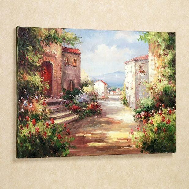 Wall Ideas: Tuscan Wall Art. Tuscany Wall Art Canvas (Image 20 of 20)