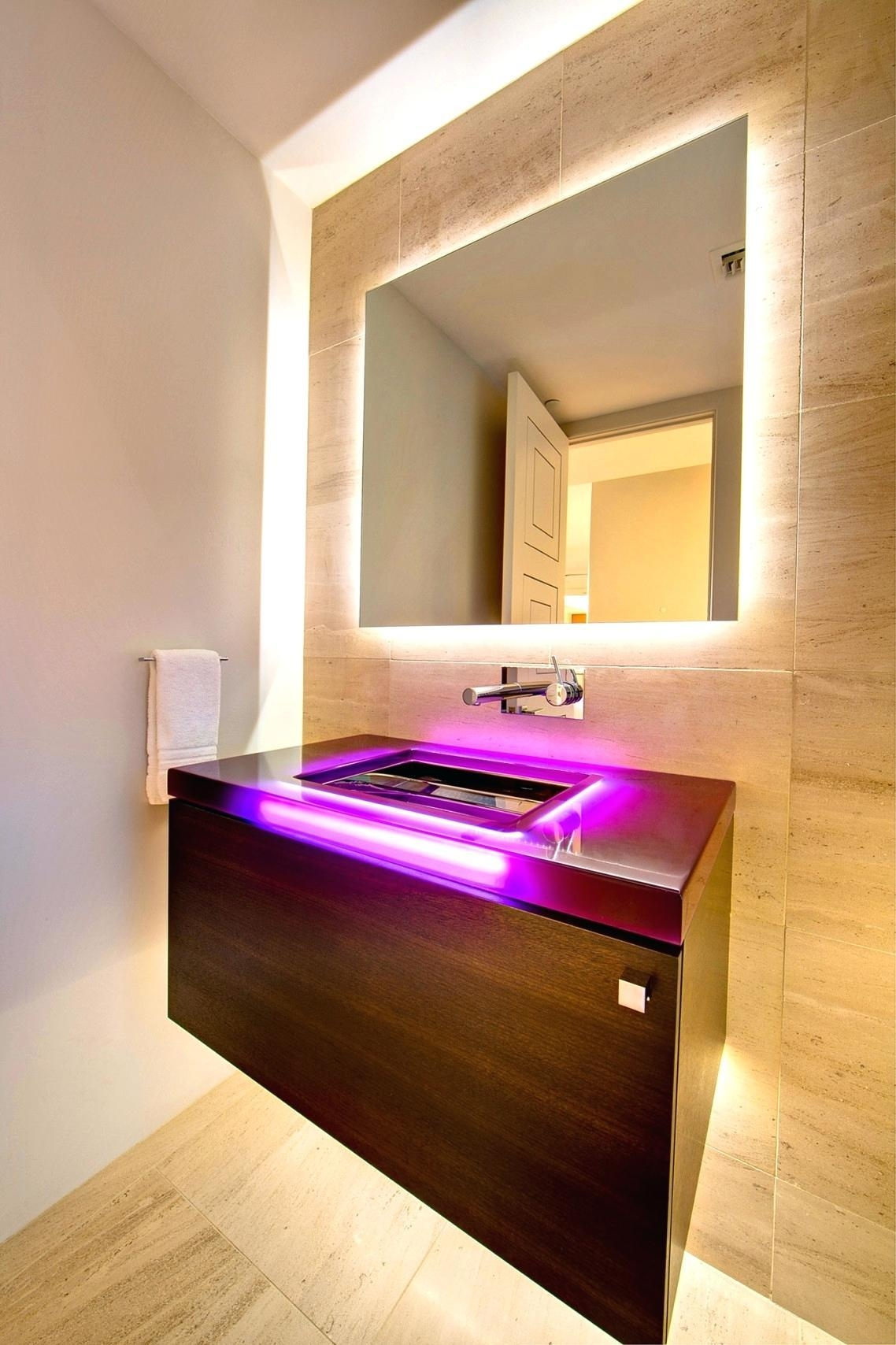 Wall Ideas : Vanity Mirror With Lights Ikea Makeup Mirror Wall Within Bathroom Wall Mirrors With Lights (Photo 9 of 20)