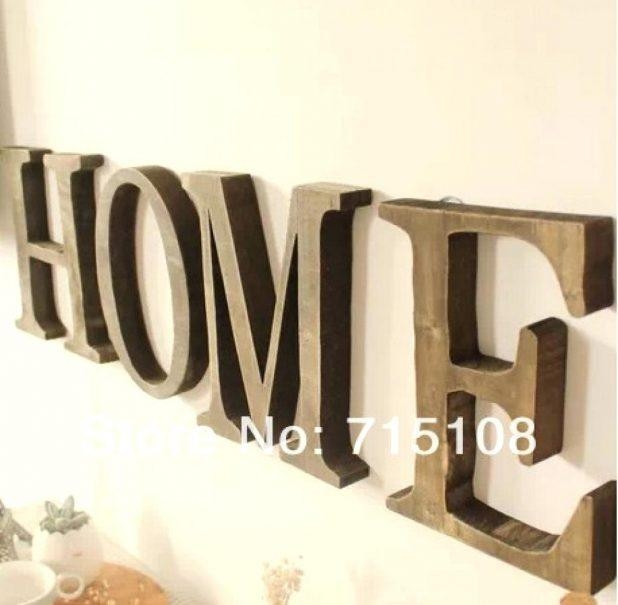 Wall Ideas: Wall Art Letters (View 3 of 20)