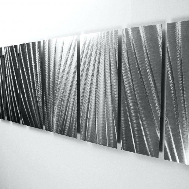 Wall Ideas: White Metal Wall Art (View 18 of 20)