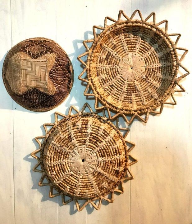Wall Ideas: Wicker Wall Decor (Image 19 of 20)